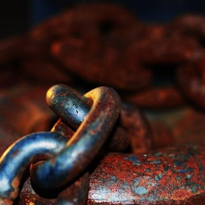 El problema del óxido en el hierro