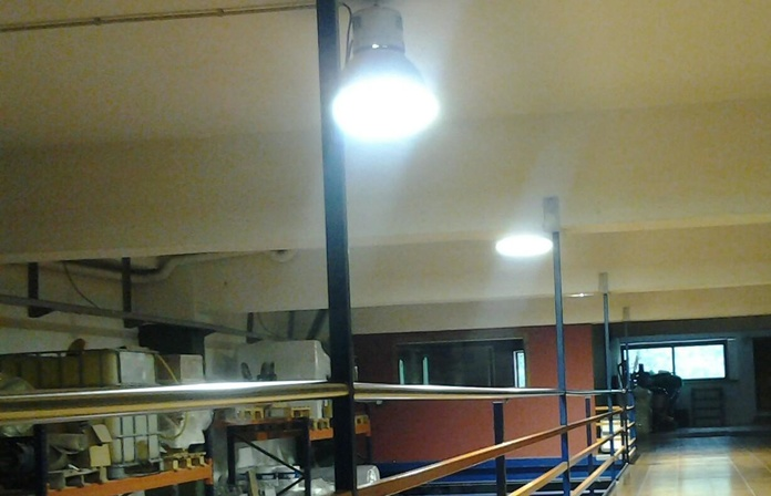 luminarias de halogenuro metalico