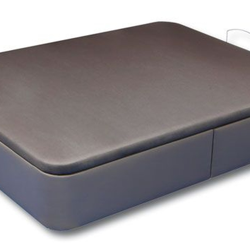 Canapé en polipiel de gran capacidad. Estructura de acero y 8 colores a elegir.  90x190cm: 199€ 135x190cm: 249€ 150x190cm: 269€