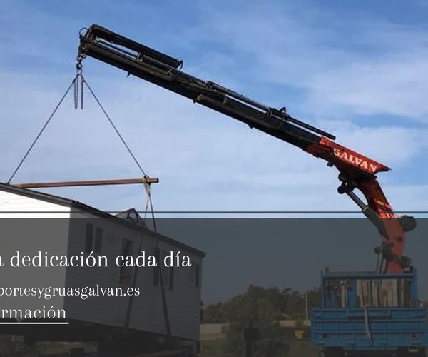Grúas y Transportes en Cádiz | Transportes y grúas Galván