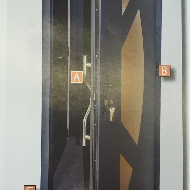 * Puertas de calle de seguridad: Servicios y productos de Persijove