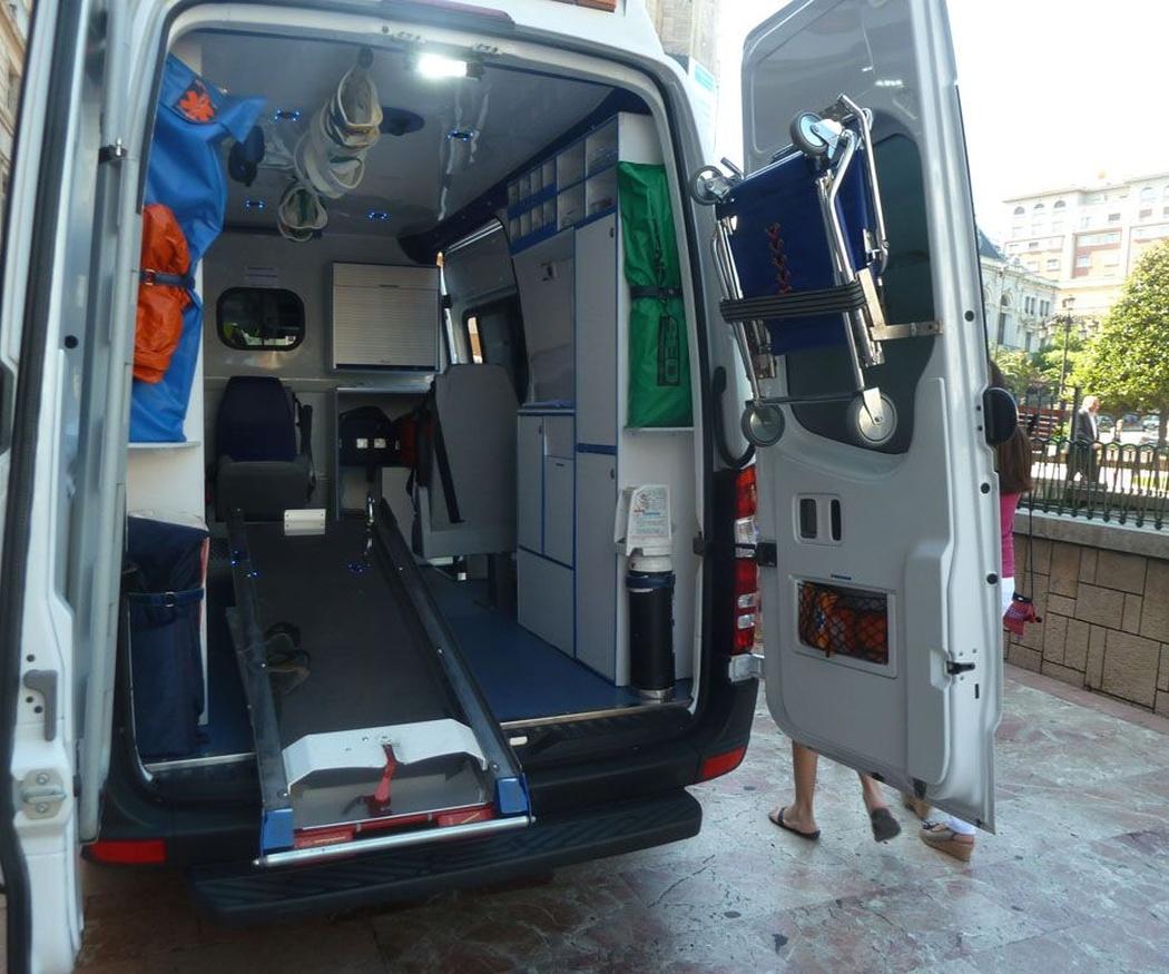 La formación y las habilidades del conductor de ambulancias