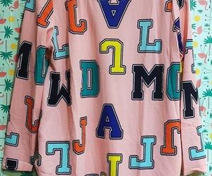 Blusa oversize de letras