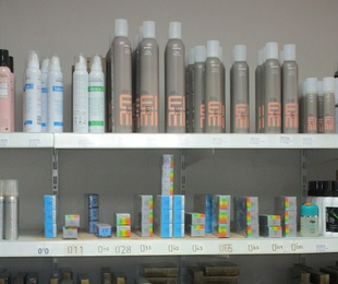 Distribución de productos de peluquería