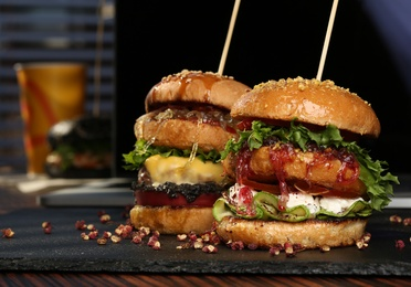 Hamburguesas, sandwich y bocadillos