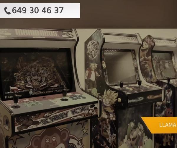 Máquinas recreativas en Madrid centro | Arcade Retro