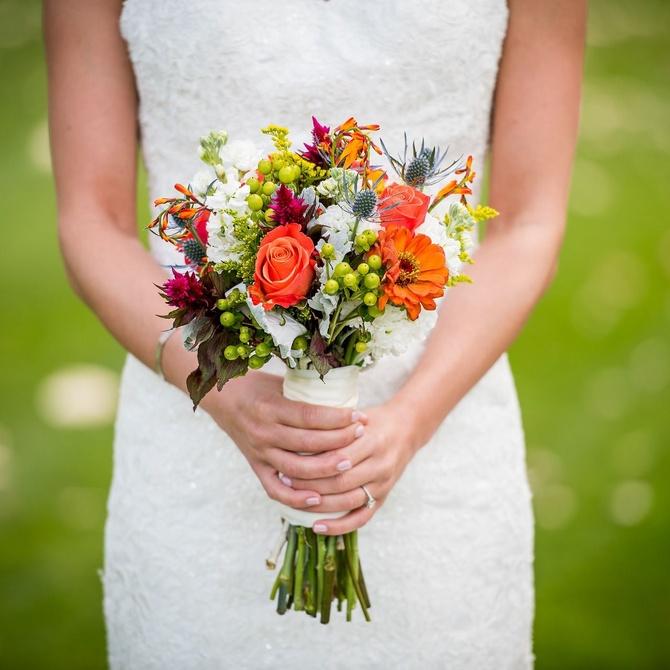 El mejor ramo de flores para tu boda