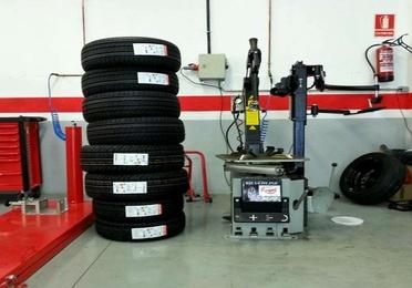 Sustitución de neumáticos