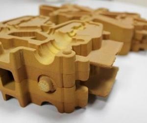 Fabricación de moldes de Inyección de Arena