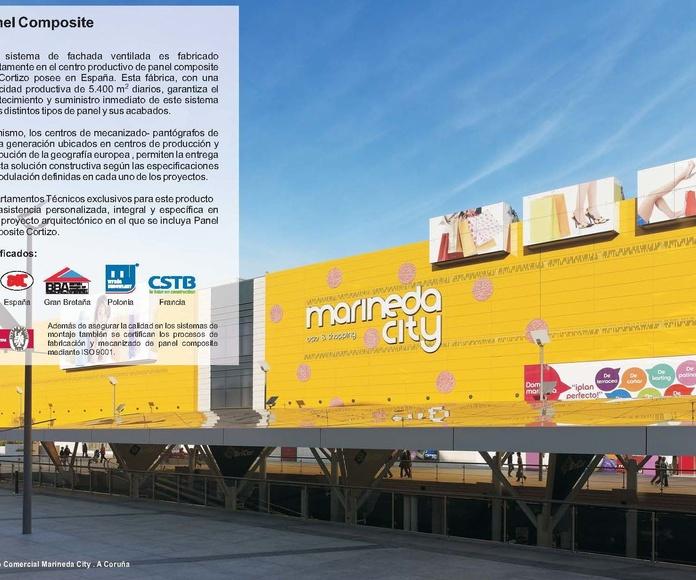 Panel Composite Cortizo: Catálogo de Jgmaluminio