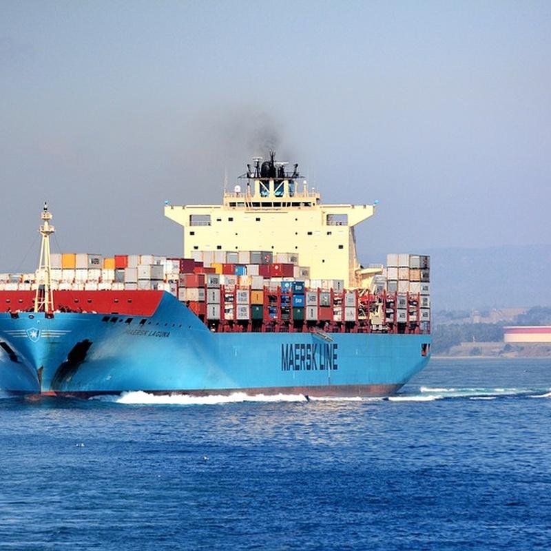Exportación. Tráfico marítimo: Servicios de Champions Internacional Transports & Moving