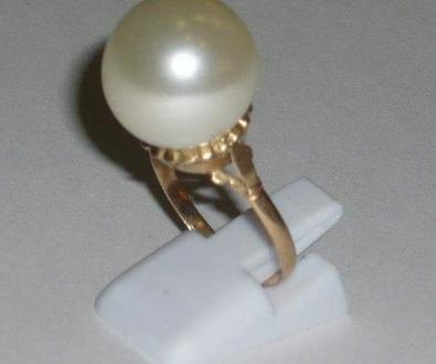 Fabricación sortija con perla.