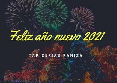 ¡FELIZ AÑO NUEVO 2021!