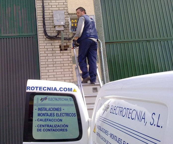 Averías y reparaciones: Servicios de Jsp Electrotecnia, S.L.