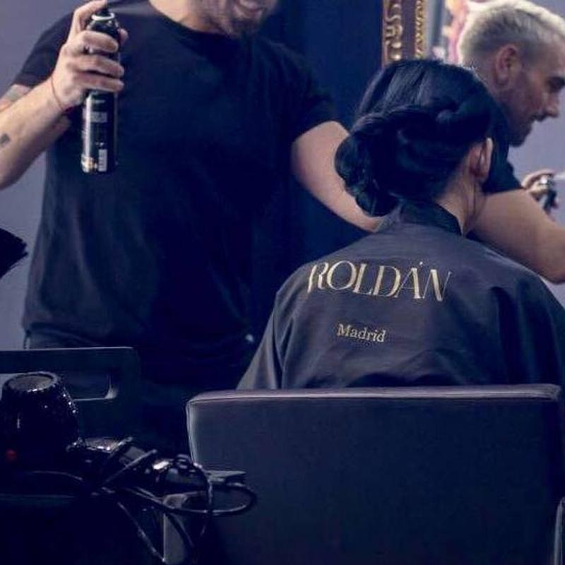 Corte y peinado personalizado: Belleza para el cabello de Salón Roldán