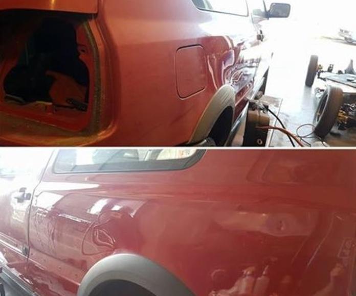 VW Golf 3 GTI - Recuperación de color