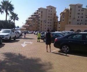 Zona de aparcamientos en Fuengirola