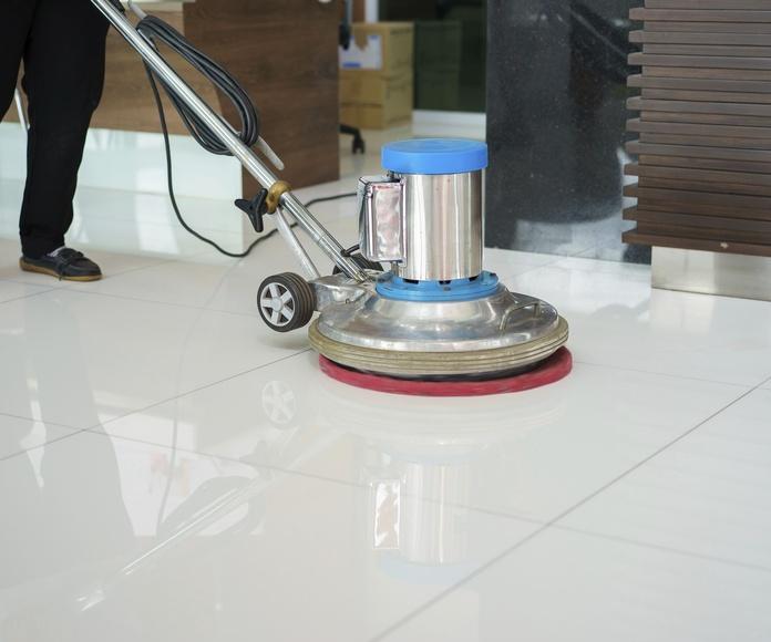 Pulido de suelos: Servicios profesionales de Sanfer Obras, Reformas y Servicios