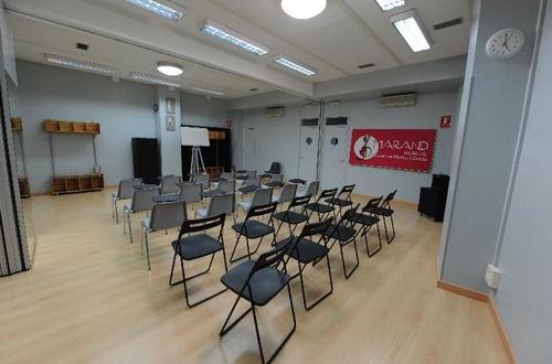 Aulas totalmente equipadas en Marand Musical