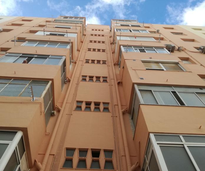 Proyecto, Dirección y Coordinación de Rehabilitación de Fachada trasera Edificio LUX, Cartagena