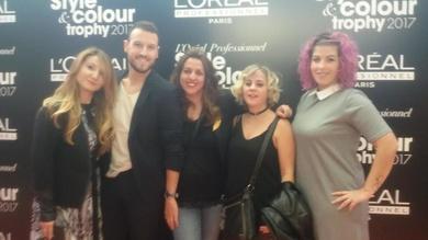 Fain Peluqueros celebra la final Color Trophy 2017!!  Estilistas en Mirasierra y Puerta de Hierro