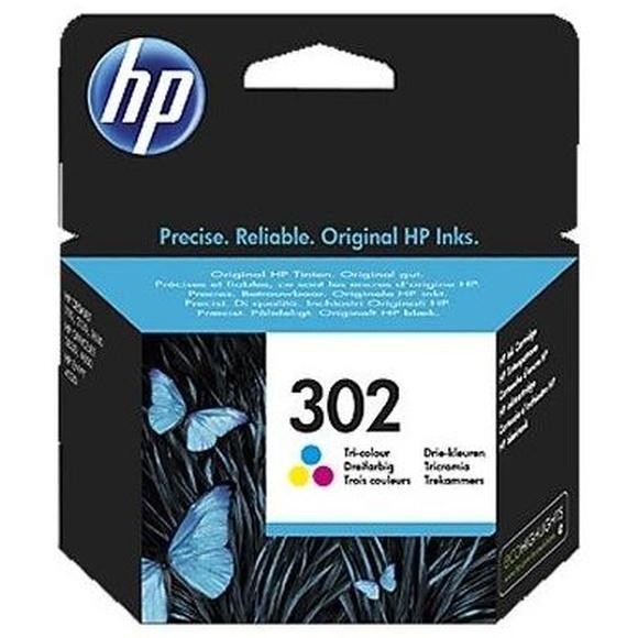 HP 302 F6U65AE cartucho color Officejet 3830 : Productos y Servicios de Stylepc