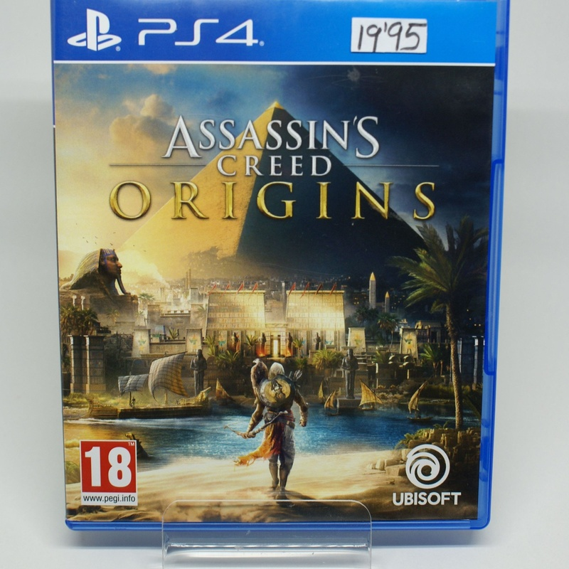 PS4 ASSASSINS CREED ORIGINS: Compra y Venta de Ocasiones La Moneta