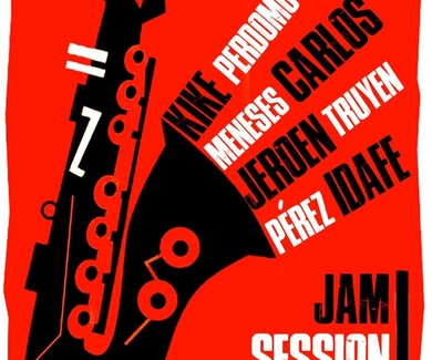 IDAFE PÉREZ, RINDE OMENAJE A LEE MORGAN EN LA JAM SESSION DE CAFE TEATRO RAYUELA EL 27 DE ABRIL
