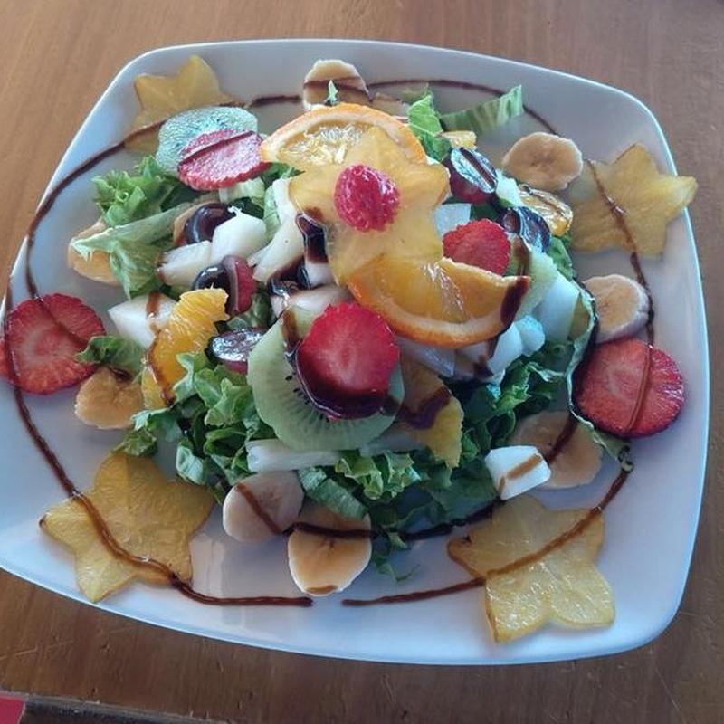 Salads: Our Menu de Kiosco La Charca