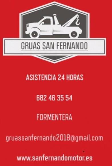 Servicio de grúa 24 horas  : Servicios de Taller San Fernando Motor