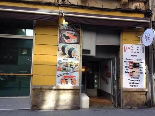 Fachada de nuestro restaurante en Gijón