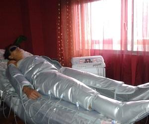 Presoterapia para reducir volúmen, eliminar líquidos retenidos, celulitis, etc