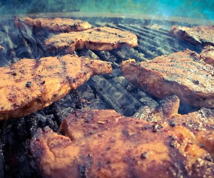 Menú de Carne: Menú de La Barbacoa sin Humo