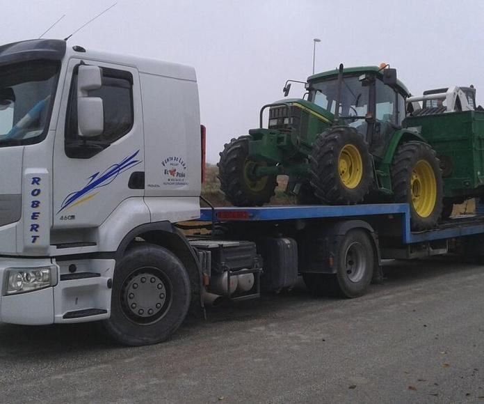 Transporte de materiales para la construcción