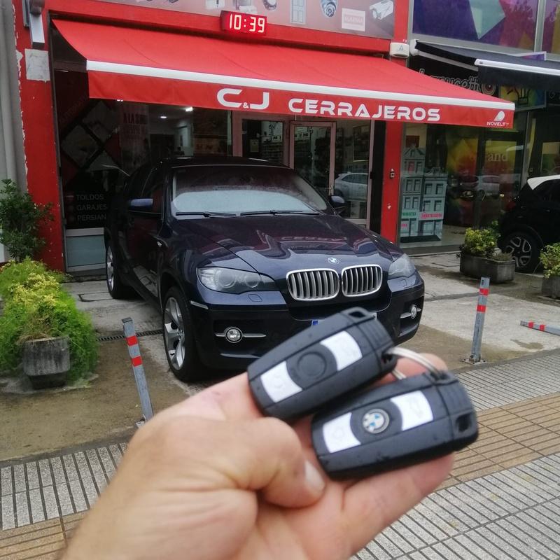 Programación de llave inteligente de BMW X6 del 2008