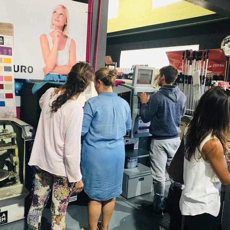 Color y tintometrica: Servicios de Pinturas Ortiz