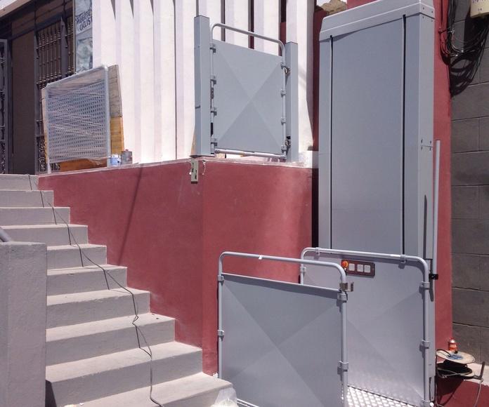 Plataforma S10: Productos de Elevadores Canarias