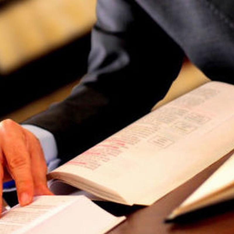 Reclamaciones judiciales: Qué hacemos de Admón. de Fincas López Yunta, S.L.