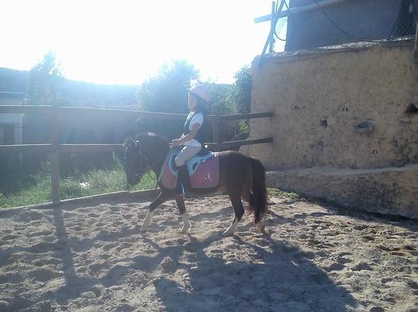 Clases de iniciación para los más pequeños. Aprender a llevar el pony solos!