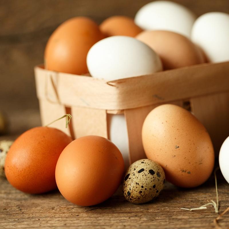 Venta de huevos: Frutas y verduras de La Alegría de la Huerta