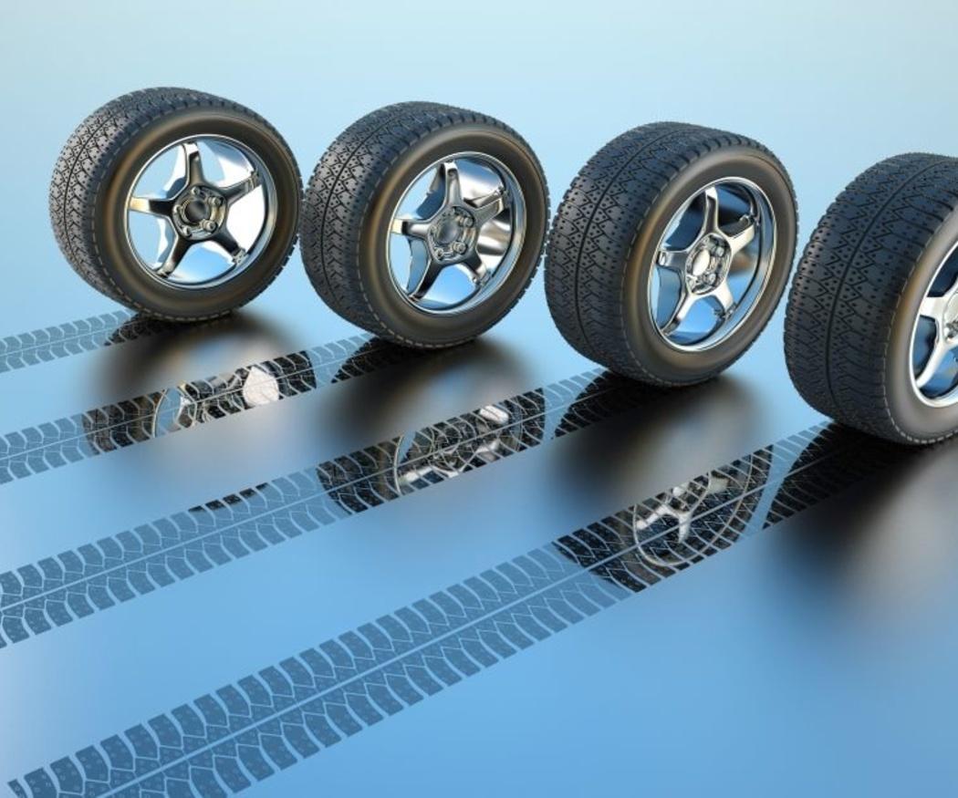 Las inscripciones en los neumáticos