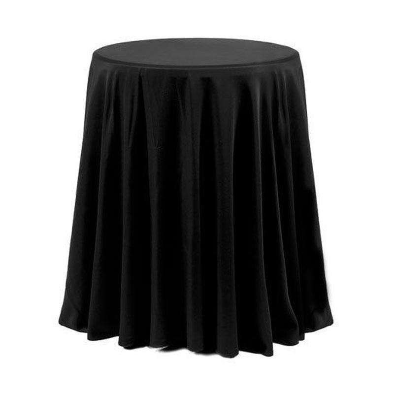 Mesa alta vestida: Alquiler de Mantelería & Menaje