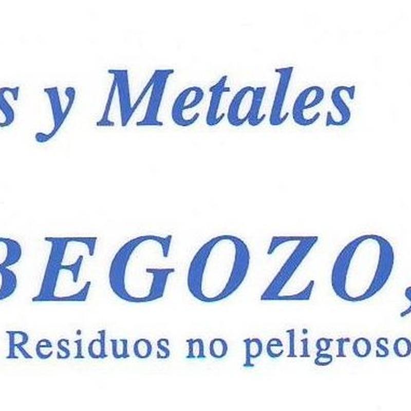 Materiales férricos y no férricos: Productos y servicios de Hierros y Metales Orbegozo, S.L.