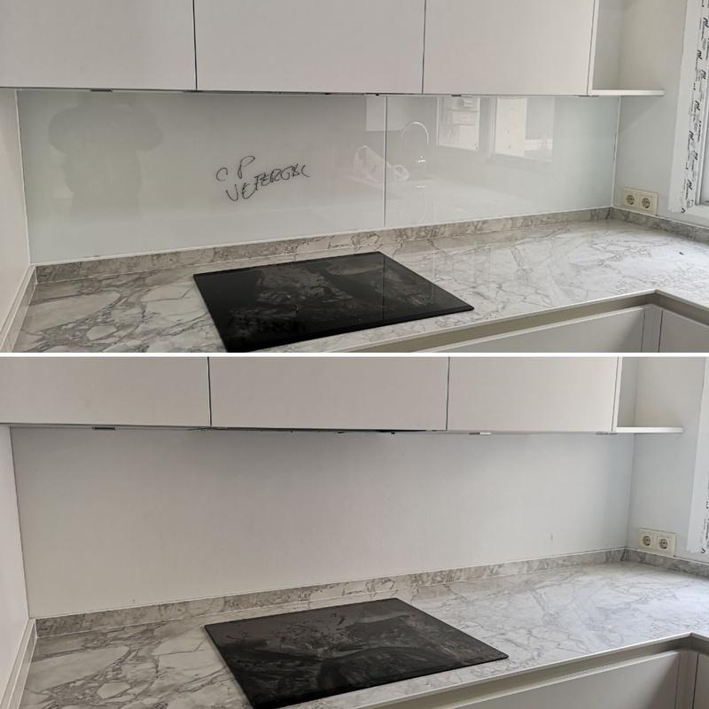 Instalación de vidrios decorativos:  de Cerrajería Vefergal