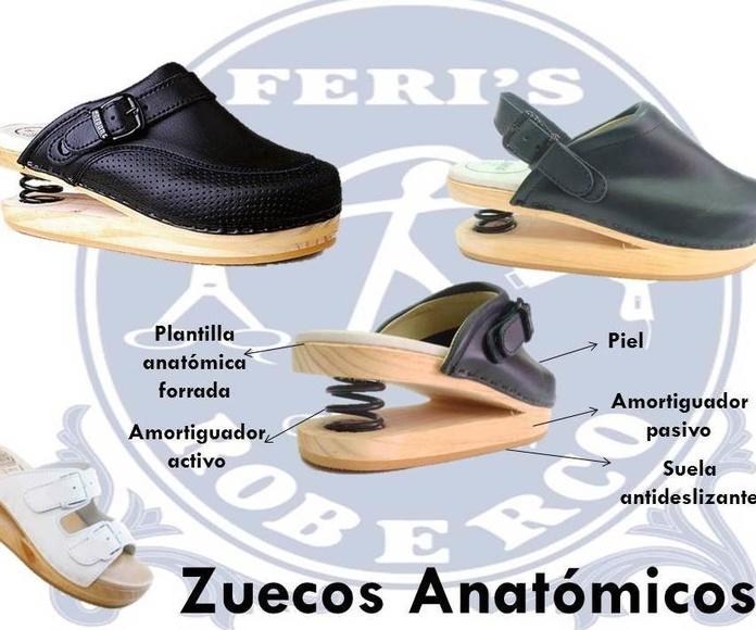 Zuecos anatómicos : Productos  de Feri´s Roberco