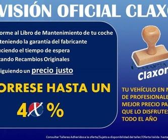Oferta Neumáticos : Productos y Servicios de Claxon Vulcanizados Manolo