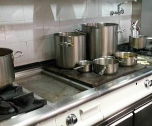 Cocina de nuestro restaurante en A Coruña