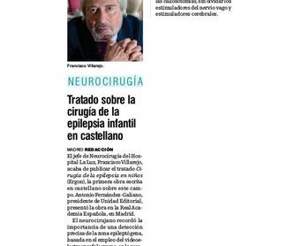 PATOLOGÍA DE LA COLUMNA VERTEBRAL EN LA TERCERA EDAD: Especialidades y publicaciones de Doctor Villarejo
