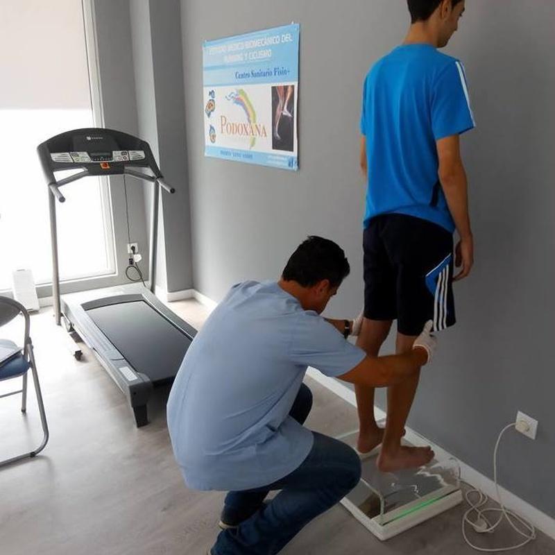 Estudio biomecánico: Servicios  de Fisio+