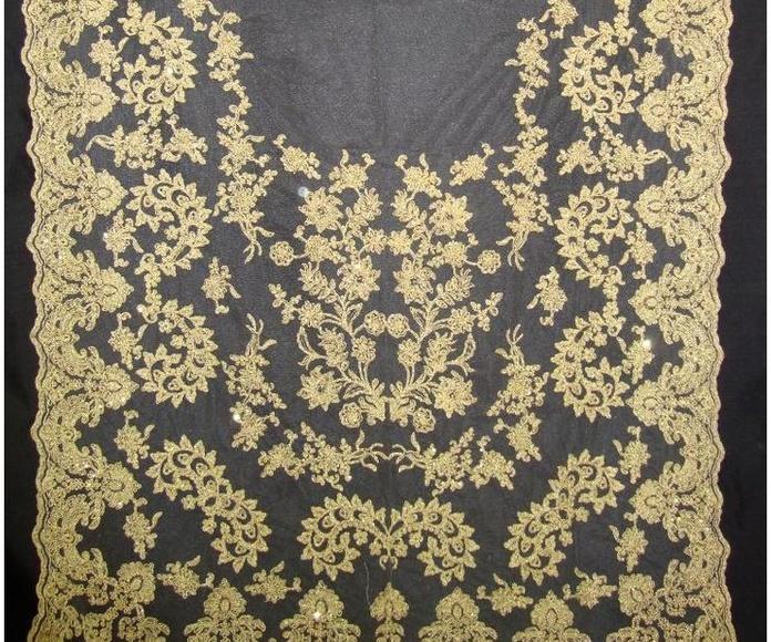 Manteletas oro : Tienda online  de Marga Noguera